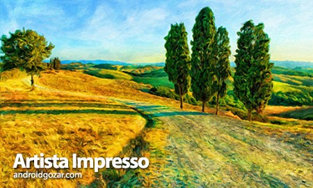 Artista Impresso 1.3.11 دانلود نرم افزار تبدیل عکس به نقاشی امپرسیونیست