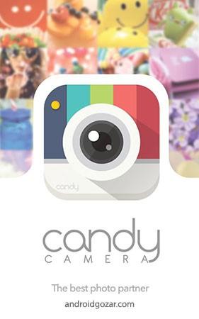 دانلود Candy Camera 5.4.59 برنامه دوربین با افکت اندروید