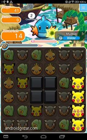 Pokémon Shuffle Mobile 1.7.0 دانلود بازی پوکمون شافل + مود