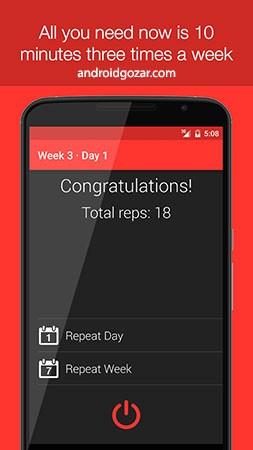 Just 6 Weeks 3.0.3 دانلود برنامه تناسب اندام در 6 هفته برای اندروید