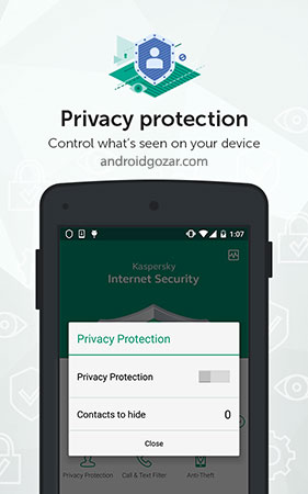 Kaspersky Mobile Antivirus 11.18.4.905 دانلود آنتی ویروس کسپرسکی اندروید