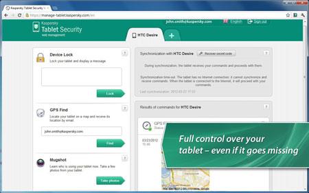 دانلود Kaspersky Tablet Security 9.14.21 – آنتی ویروس تبلت اندروید