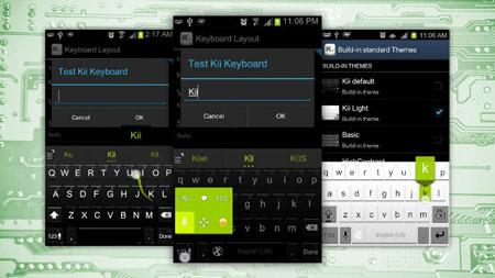 Kii Keyboard Premium 1.2.23r2 دانلود صفحه کلید کامل و بی نظیر