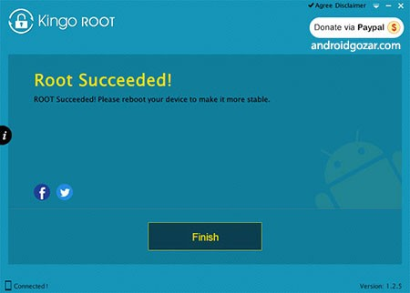 Kingo Android Root 4.5.1 دانلود نرم افزار روت اندروید با یک کلیک