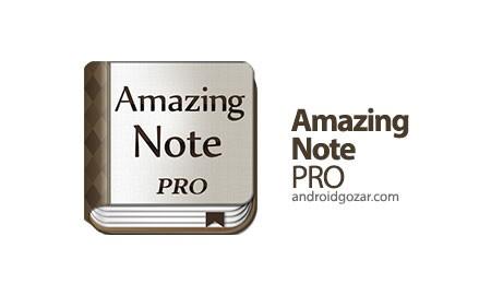Amazing Note PRO 1.4.6 Patched دانلود نرم افزار یادداشت شگفت انگیز