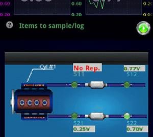 LapLogger OBD Scanner 2.70 خواندن و ریست کد OBD خودرو