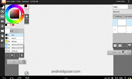 LayerPaint HD 1.7.17 دانلود نرم افزار نقاشی برای تبلت اندروید
