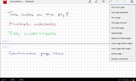 دانلود LectureNotes 2.9.6 – یادداشت برداری با دست خط در اندروید