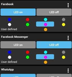 LED Blinker Notifications 7.1.5 مدیریت اطلاع رسانی LED اندروید