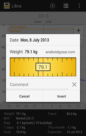 Libra Pro – Weight Manager 3.3.18 دانلود نرم افزار مدیریت وزن اندروید