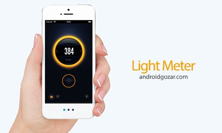 Light Meter – lux measurement 1.1 دانلود نرم افزار نور سنج