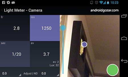 Light Meter Tools 6.4.3 دانلود نرم افزار ابزار نور سنج اندروید
