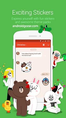 LINE: Free Calls & Messages 8.14.0 دانلود لاین اندروید