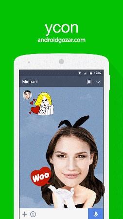 LINE ycon – make your emoticon 4.4.1 دانلود نرم افزار ساخت استیکر خود