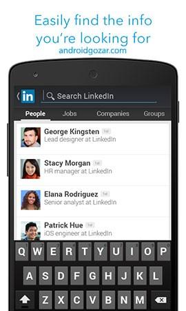دانلود LinkedIn 4.1.627.1 – برنامه شبکه اجتماعی تجاری لینکدین اندروید