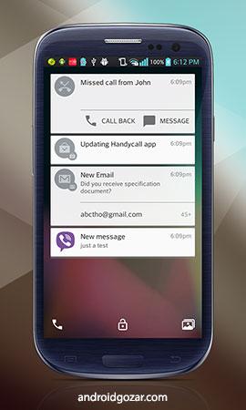 Lollipop Lockscreen Android L Premium 1.72 دانلود قفل صفحه اندروید L