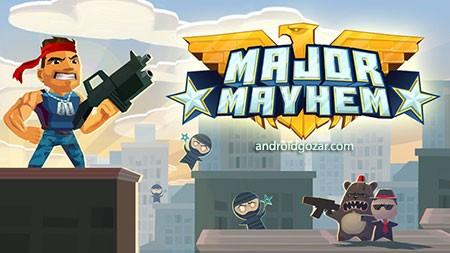 Major Mayhem 103 دانلود بازی ضرب و شتم بزرگ اندروید + مود