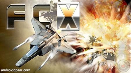 Fractal Combat X 1.4.11.2 دانلود بازی مبارزه پرواز+مود