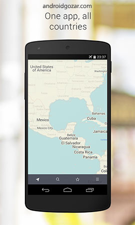 دانلود MAPS.ME Pro 12.2.1 – برنامه نقشه های آفلاین جهان اندروید