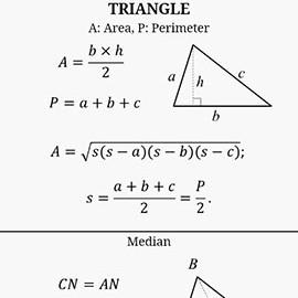 Maths Formulas 9.6 Paid دانلود نرم افزار فرمول های ریاضی اندروید