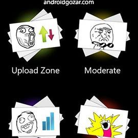 Memedroid Pro 5.2.18 دانلود نرم افزار ترول و الگوهای رفتاری اندروید