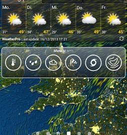 MeteoEarth Premium 2.2.5.6 دانلود نرم افزار پیش بینی آب و هوا اندروید