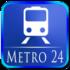 Metro Navigator Pro 3.2.3 دانلود نرم افزار مسیریابی مترو اندروید