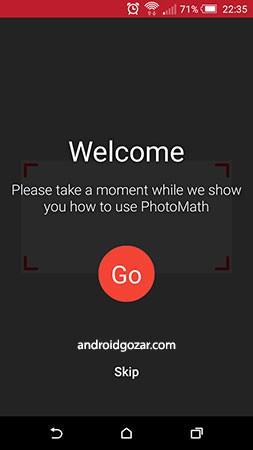 PhotoMath 5.0.3 دانلود نرم افزار حل مسائل ریاضی با عکس گرفتن