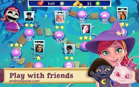 Bubble Witch 2 Saga 1.74.0 دانلود بازی جادوگر حباب 2 اندروید + مود