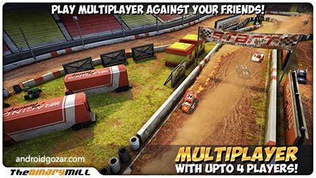Mini Motor Racing 2.0.2 دانلود بازی چند نفره ماشین های کوچک اندروید + مود