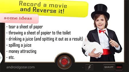 دانلود Reverse Movie FX Pro 1.4.1.1 – برنامه معکوس کردن ویدئو اندروید