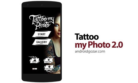 Tattoo my Photo 2.0 Pro 2.97 تاتو کردن عکس در اندروید