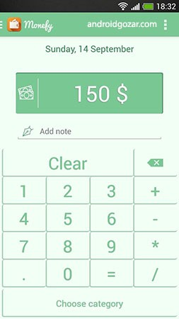 Monefy Pro – Money Manager 1.9.6 مدیریت هزینه ها و دخل و خرج