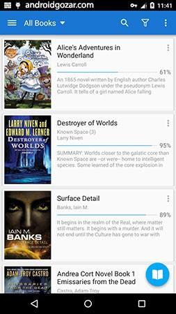 دانلود Moon+ Reader Pro 6.4 برنامه کتابخوان حرفه ای اندروید