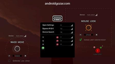 Mouse&Key 2Touch Gaming 3.06 اجرای بازی اندروید با ماوس و کیبورد