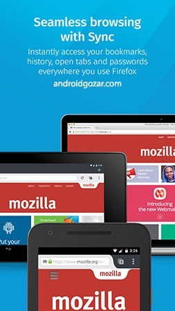 Firefox Browser 62.0.3 Final دانلود مرورگر فایرفاکس اندروید