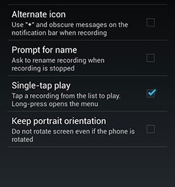 Hi-Q MP3 Voice Recorder (Pro) 2.6.2 دانلود نرم افزار ضبط صدا اندروید