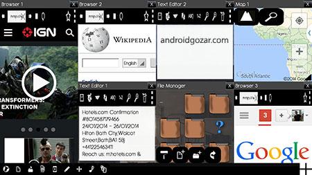 Multiscreen Multitasking THD 19.1 دانلود نرم افزار عملکرد چند تکلیفی