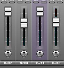 دانلود J4T Multitrack Recorder 4.8.08 برنامه ضبط صدا چند کاناله اندروید