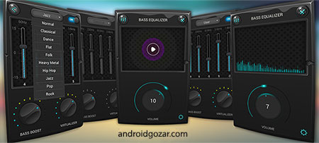 Equalizer & Bass Booster Pro 1.5.2 دانلود نرم افزار تقویت باس و اکولایزر