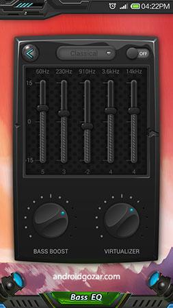 Equalizer & Bass Booster Pro 1.5.4 دانلود نرم افزار تقویت باس و اکولایزر