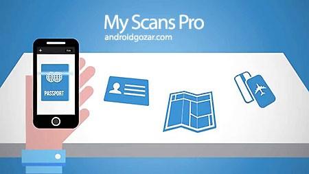 My Scans Pro 3.2.6 دانلود نرم افزار اسکنر اسناد اندروید