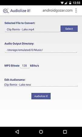 Audiolize it! Pro – Converter 1.1.1 Patched دانلود نرم افزار تبدیل فیلم و صوت به MP3