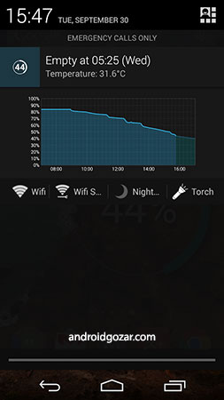 Battery Widget Reborn Pro 3.0.3 دانلود ویجت باتری اندروید