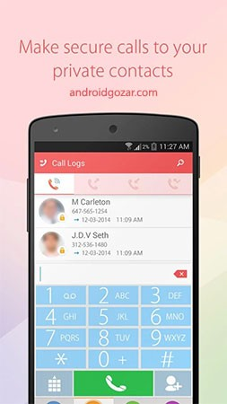 Hide SMS and Call Recorder Pro 1.2.2 مخفی کردن اس ام اس و تماس ها
