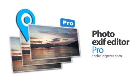 Photo Exif Editor Pro 1.6.4 دانلود نرم افزار ویرایش اطلاعات EXIF عکس ها
