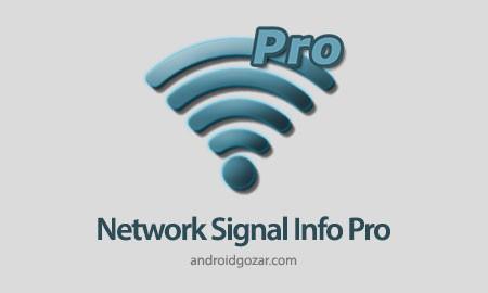 دانلود Network Signal Info Pro 5.56.11 برنامه نمایش اطلاعات سیگنال شبکه