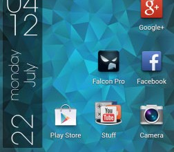Nexus Triangles LWP 3.2 لایو والپیپر مثلثی زیبا