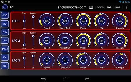 Heat Synthesizer Pro BETA 0.9.8 دانلود نرم افزار سینث سایزر