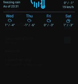 Notification Weather Premium 2.5.4 دانلود نرم افزار آب و هوا